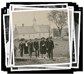 Easter Sunrise Service at Bethabara Moravian Church, 1938
