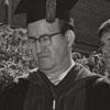 Bill Angell with University Mace