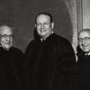 James Ralph Scales with honorary degree recipients, 1976