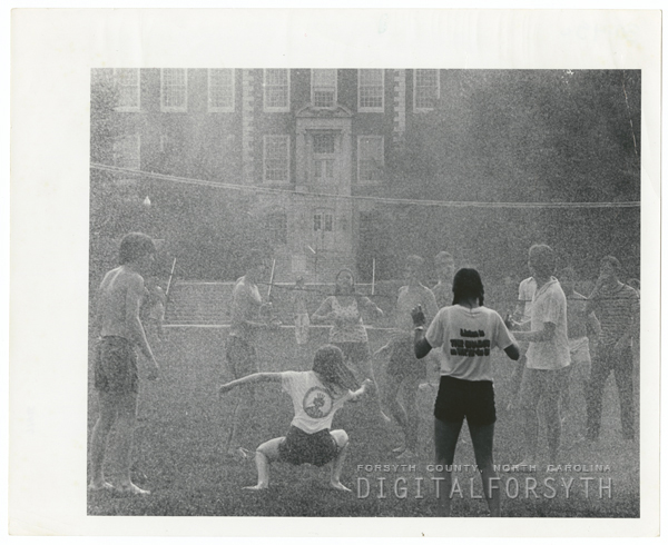 Outdoor volleyball at Wake Forest