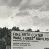 Scales Fine Arts Center, Wake Forest University, under construction
