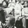 Photographer Bruce Wellmon at Wake Forest basketball game