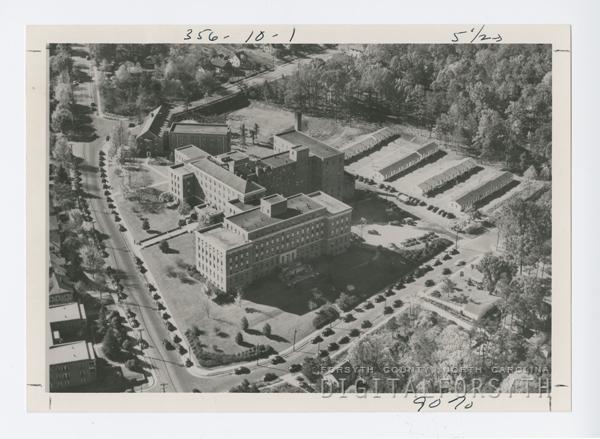 Original Housing at Bowman Gray School of Medicine
