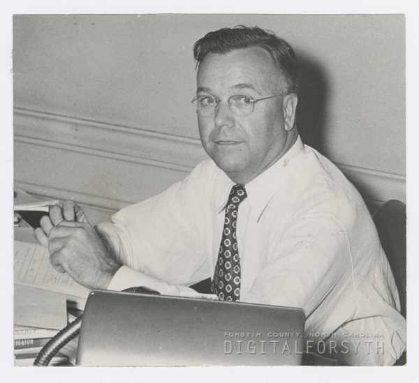 Dr. Carpenter at His Desk