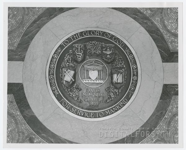 Bronze Chapel Medallion