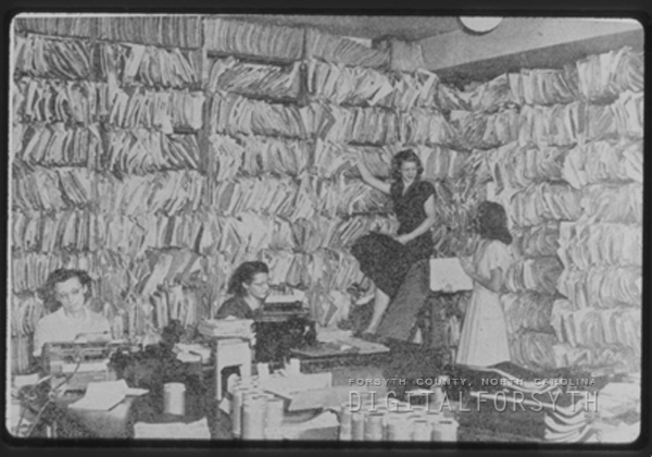 Patient Record Room