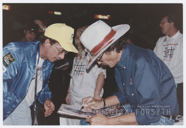 Richard Petty at the Winston Cup Auction