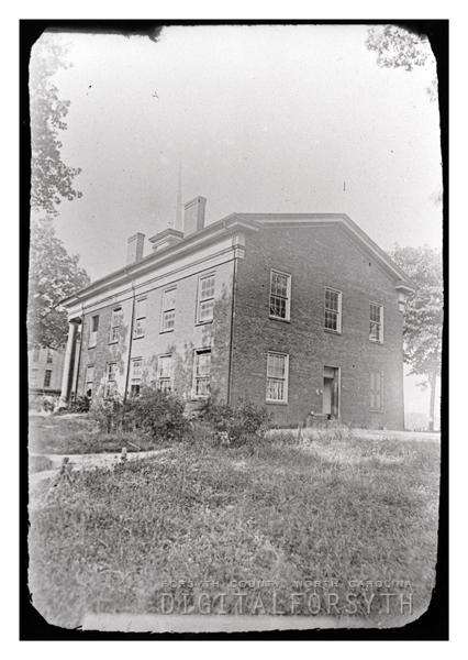 Digital Forsyth | 1850 Forsyth County Courthouse