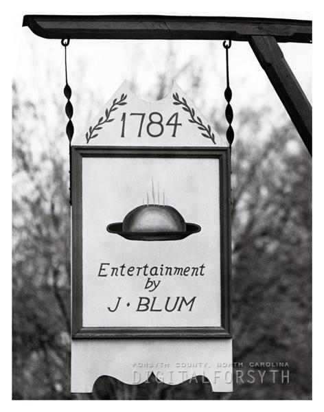 Salem Tavern Sign