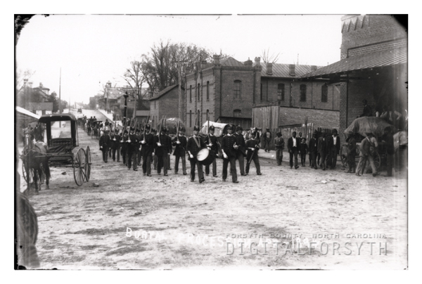 'Burial Procession Apr 1894'