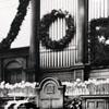 Mattie Winkler at Home Moravian Church Christmas 1939