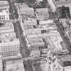 """""""Air Plane view of Business section of Winston-Salem N.C."""""""