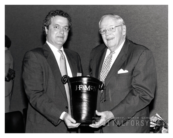 John F. McNair and Bill Wilson