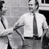 George H.W. Bush and Barbara Bush Visiting Salem