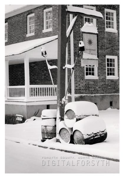 Salem Tavern After a Snow