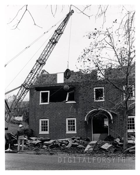 Removal of Salem Boys' School Annex