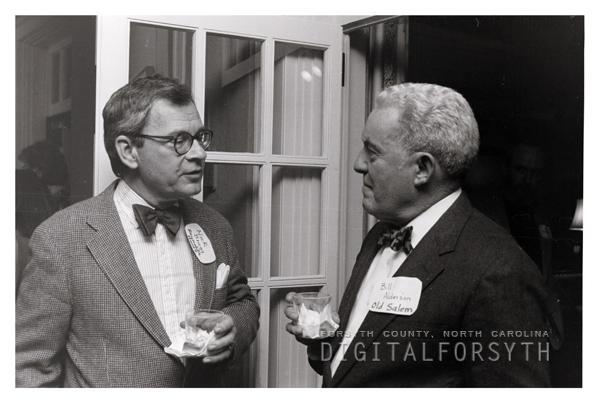 Nick Bragg and Dr. Bill Alderson