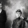 Unidentified Young Women and a Boy