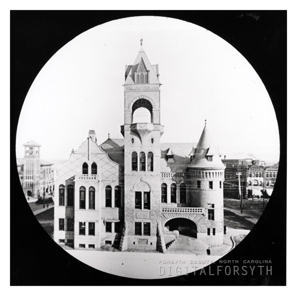 Second Forsyth County Courthouse