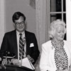 Frank L. Horton, Mrs. Gordon Hanes, and Tom Gray