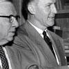 Ralph P. Hanes, Clarke Starbuck, and Arthur Spaugh Sr.