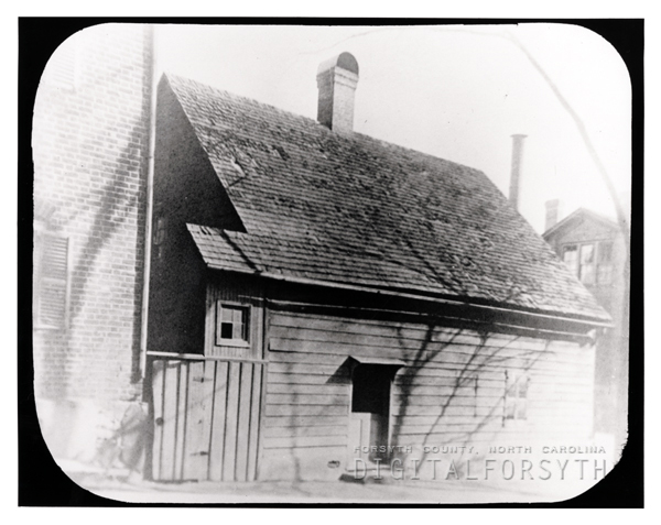 'Old Stiner [sic] School House - Salem, NC'
