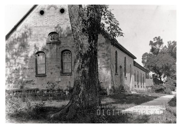 1788 Gemeinhaus in Bethabara