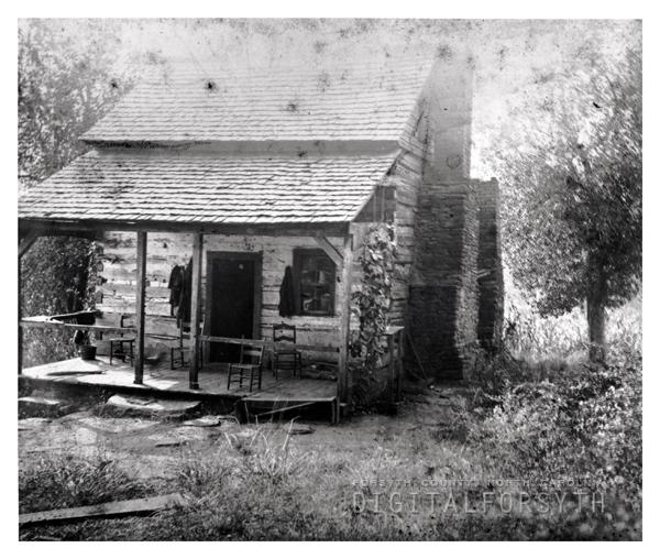 Johannes Leinbach Cabin in Bethania