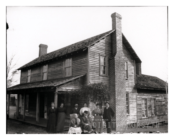 A Family and their House in Bethania