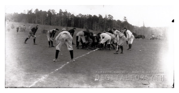 'Davis School Cadets Playing Ball'