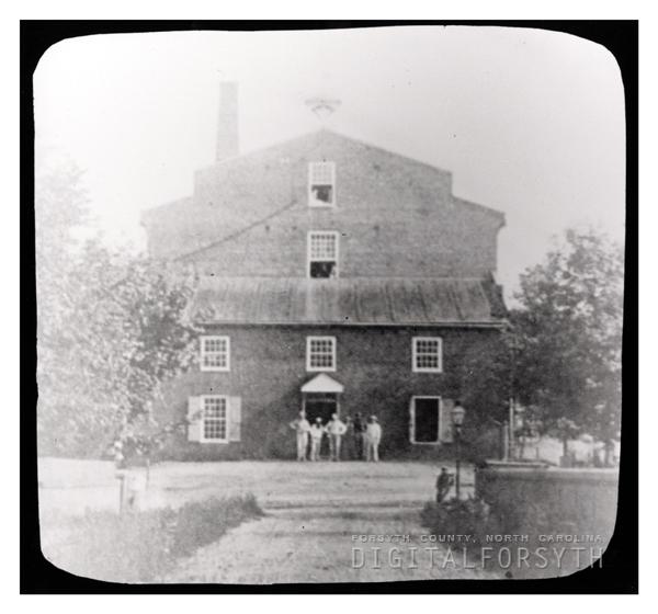 'First Cotton Mill Shallowford'