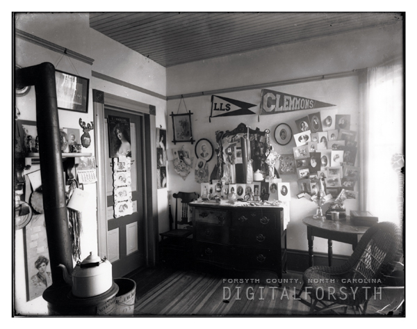 Bertha Peterson nee Hall's Room