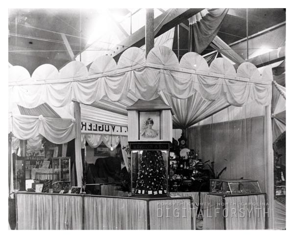 W. T. Vogler and Son's Jewelry Store Exhibit