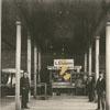 Market stalls at Winston Town Hall, 1894.