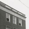 Winston-Salem City Hall, back of the building, 1955.