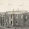First Forsyth County Courthouse (1850-1897) being demolished.