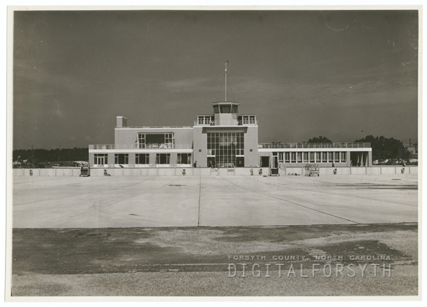 Z. Smith Reynolds Airport Terminal Building, 1942.