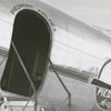 Piedmont Airlines DC-3 airplane, 1948.