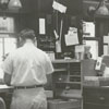 Interior view of the Post Office, 1962.