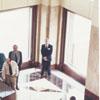 Dedication of the new Wachovia Center, 1996.