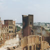 Ruins of R. J. Reynolds Tobacco Company's Factory #256 complex after the fire, 1998.