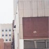 Buildings to be demolished in the 400 block of North Liberty Street for the One West Fourth building, 2000.