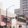 Buildings at the corner of West Fourth and North Liberty Streets, to be demolished for the One West Fourth building, 2000.