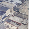 Aerial showing the block bounded by N. Liberty and W. Fourth Streets, 2000.