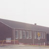 Demolition of South Fork School on Country Club Road, 2000.