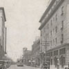 North Main Street looking north towards Third Street, 1918.