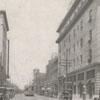 North Main Street looking north towards Third Street, 1918.