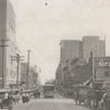 North Liberty Street looking south towards West Fifth Street, 1918.