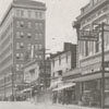 View of West Fourth Street looking west at North Main Street, 1918.
