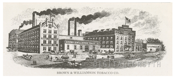 Brown & Williamson Tobacco Company, 1918.